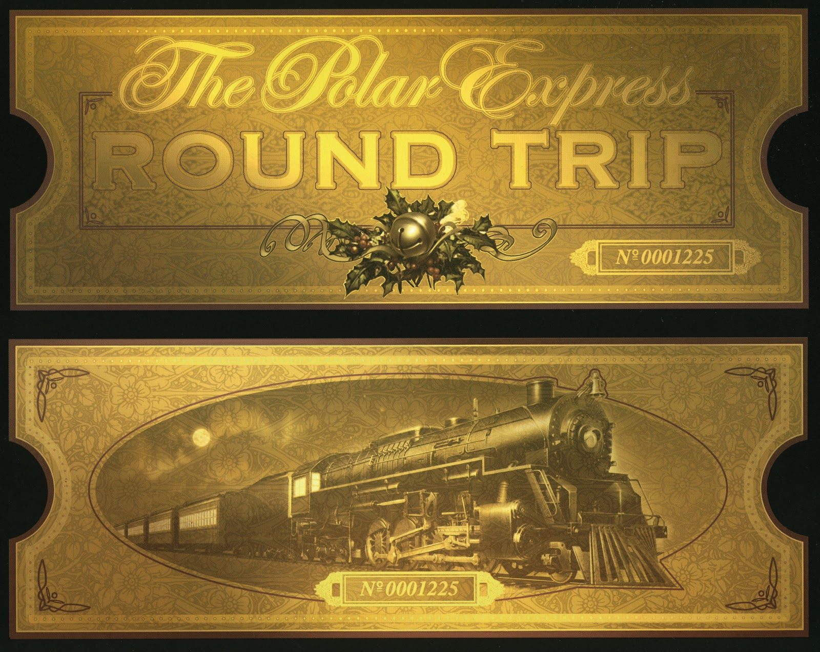Polar Express Tickets Images Picture