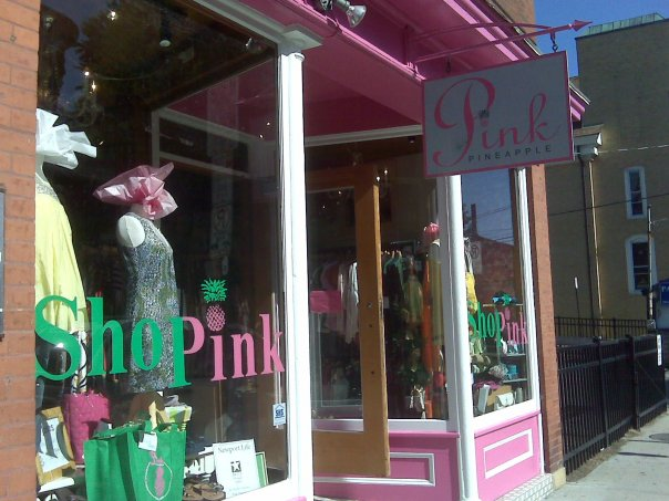 Pink Pineapple in Newport, RI