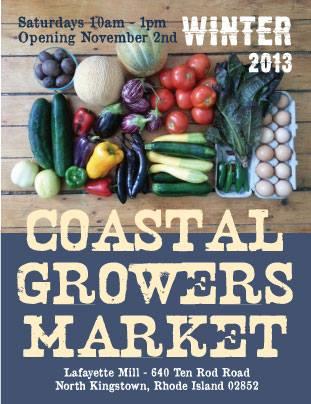 Coastal Growers' Indoor Farmers Market in Rhode Island