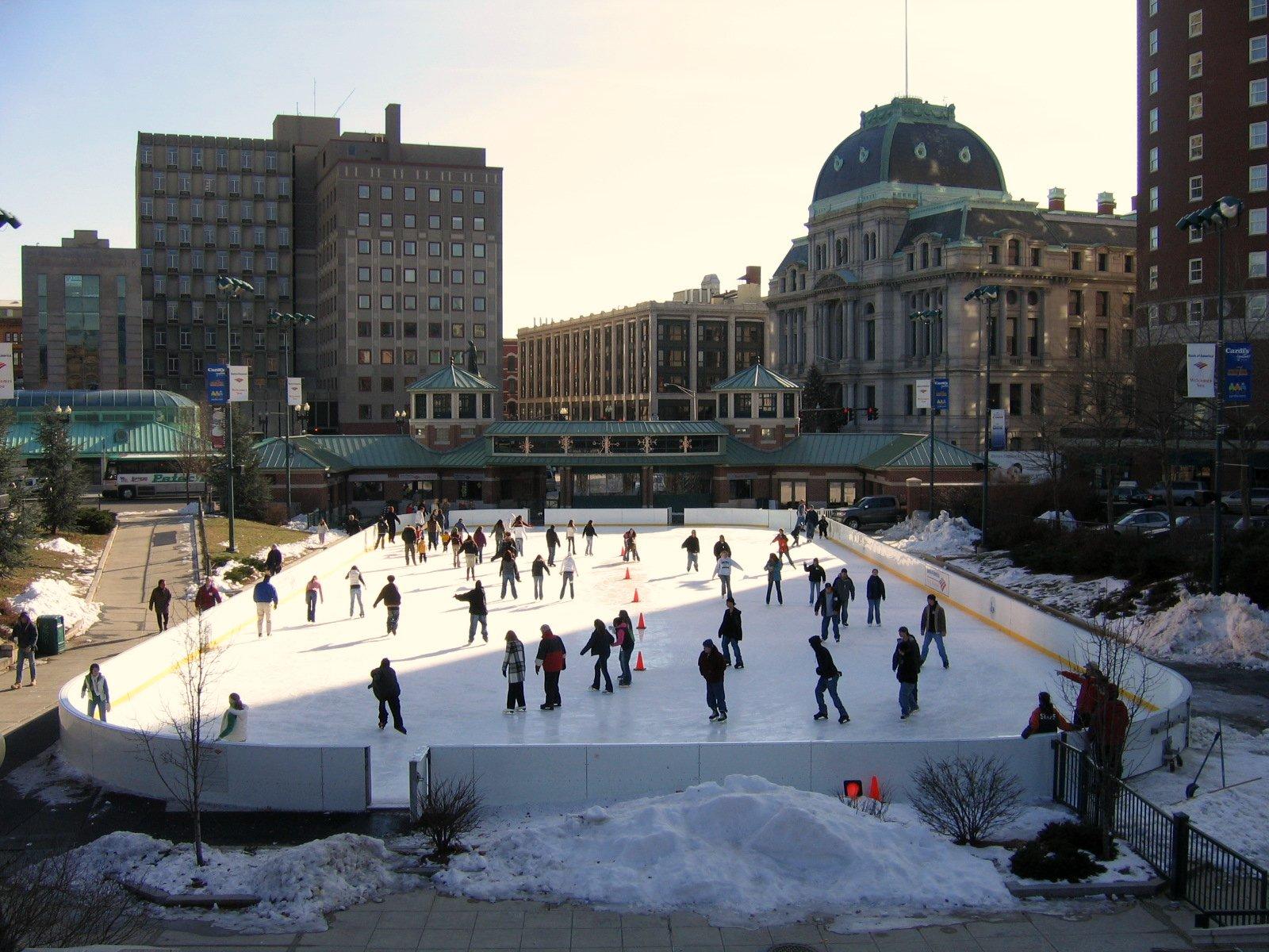 Ice Skating in Providence, RI