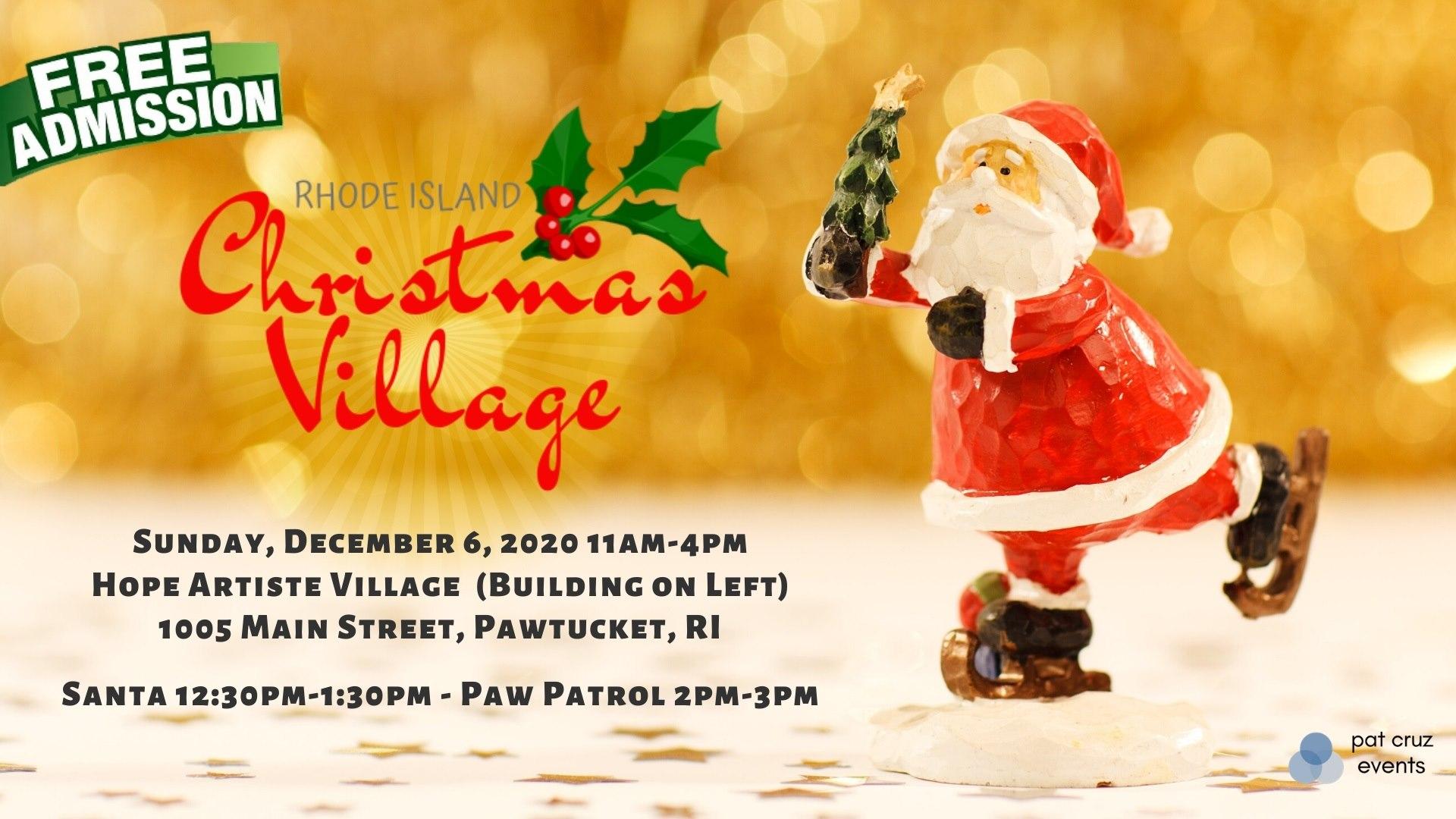 Rhode Island Christmas Village | Things To Do In Rhode Island | RI