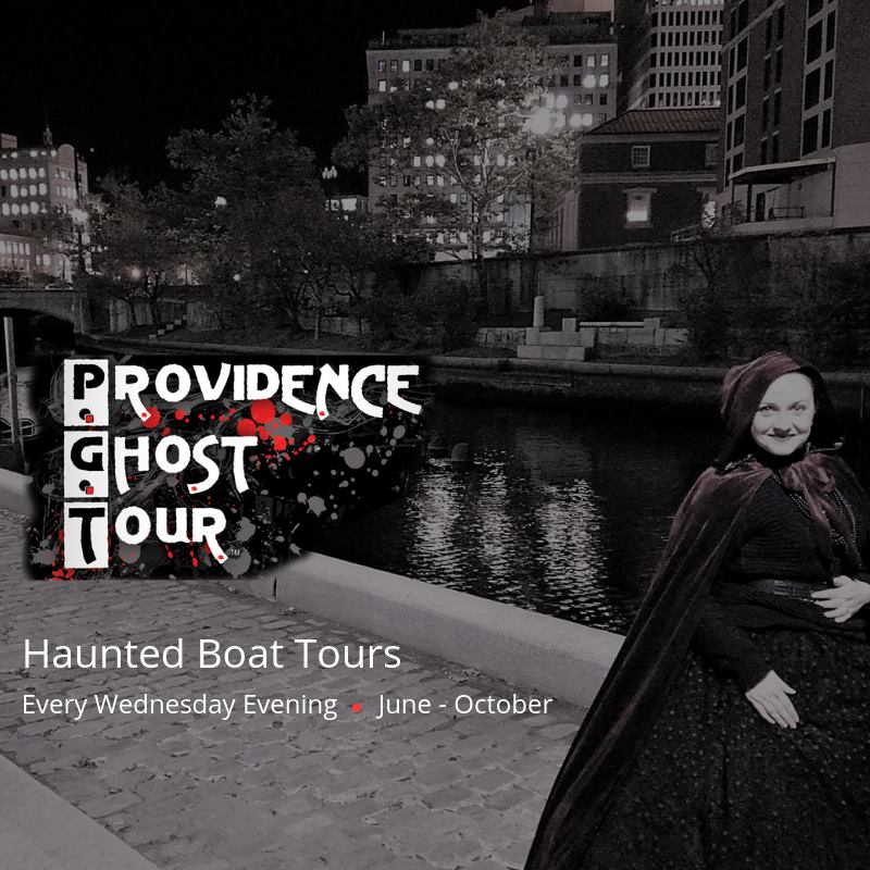 Rhode Island's Only Haunted Boat Tour!