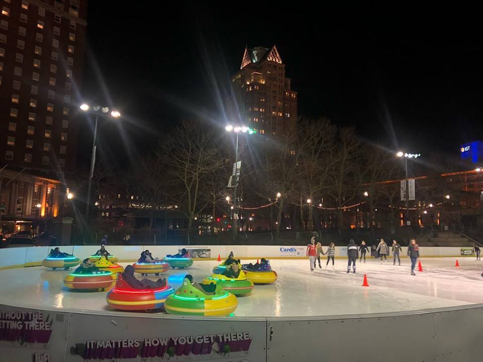 Bumper Cars On Ice Things To Do In Ri Ri Events