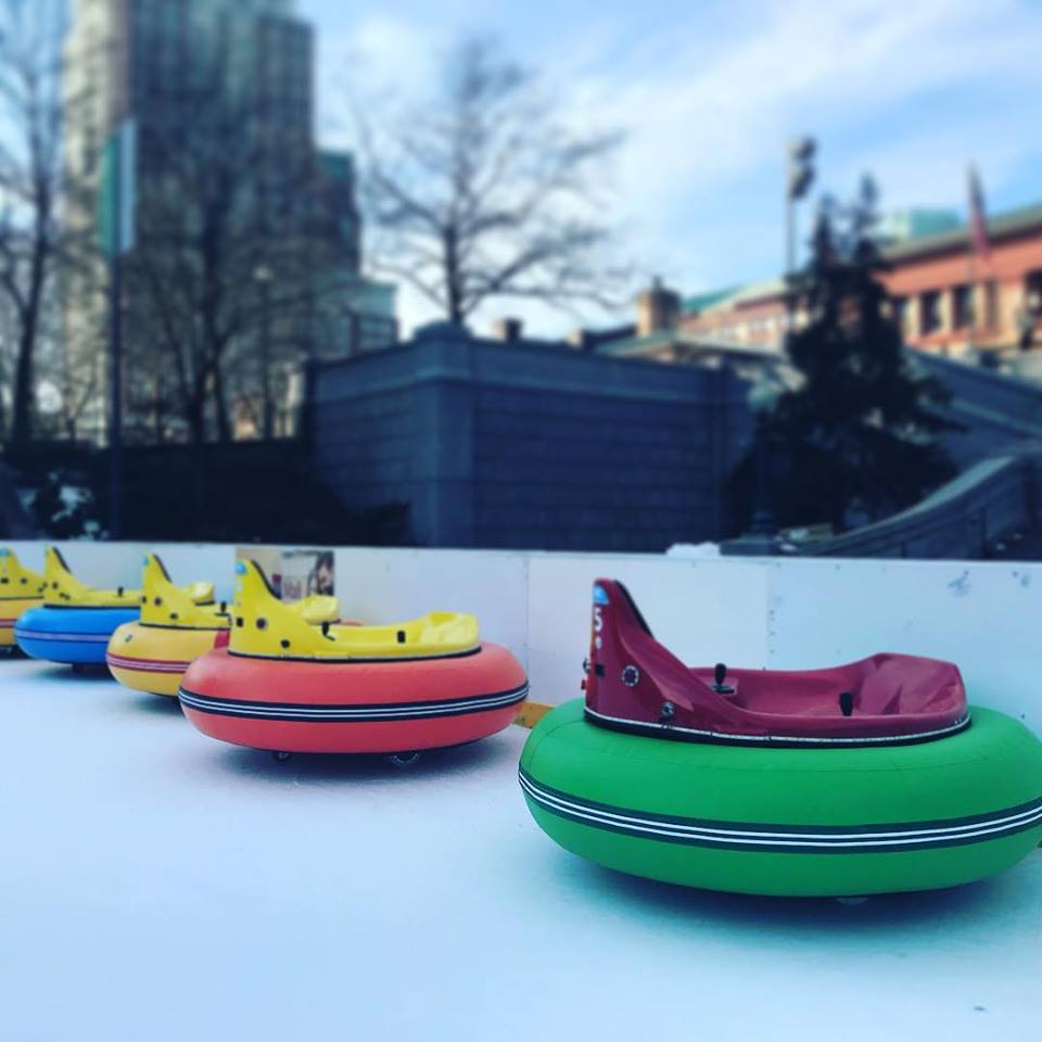 Alex And Ani Center Now Offers Bumper Cars On ICE