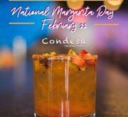 National Margarita Day at Condesa