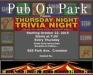 Thursday Night Trivia at Pub on Park !