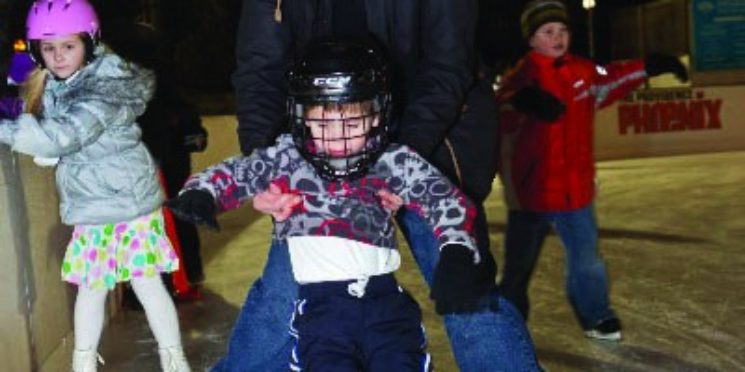 Opening of the Newport Skating Center!