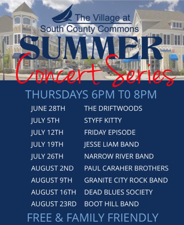 Concerts In Rhode Island In August