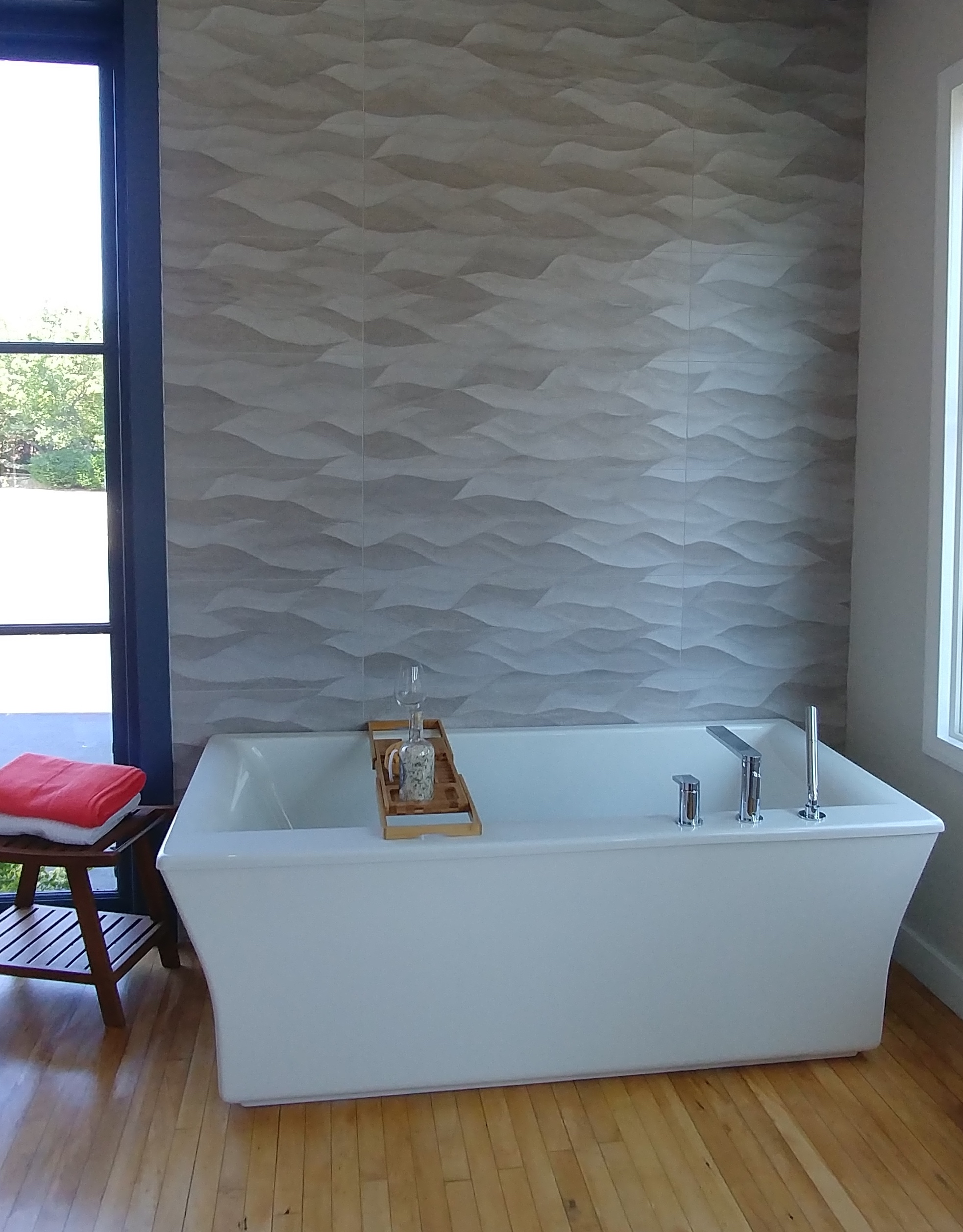 wall tile bathroom- 3d textured tile | Things To Do In Rhode Island ...